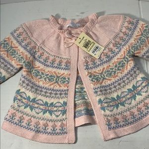 NWT Really Cute Ralph Lauren Baby Sweater